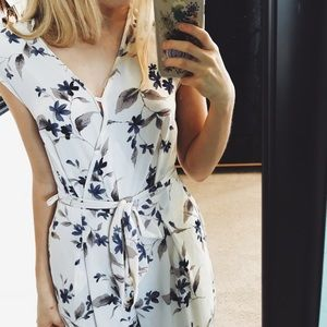 24fcfed6134 Sienna Sky (Nordstrom Juniors) Other - Floral Tie Waist Jumpsuit- Sienna Sky